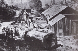 Typical period sawmill